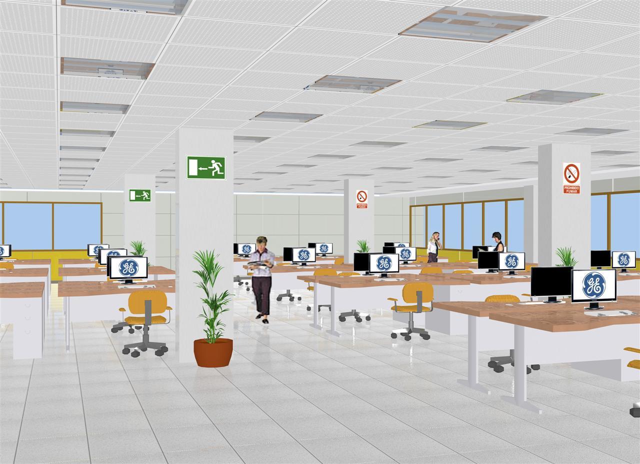 Delineaciones maj n arquitectura animaciones y modelado 3d - General electric madrid ...